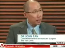 Dr. John Tan featured in Channel NewsAsia Primetime Morning